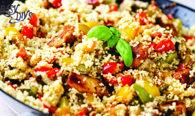 Couscous with roasted red pepper