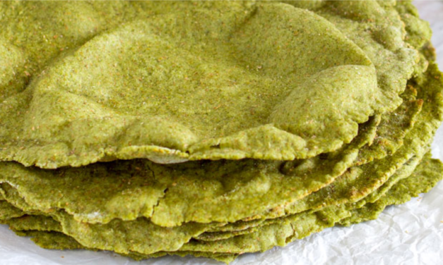 Nettles flatbread without yeast