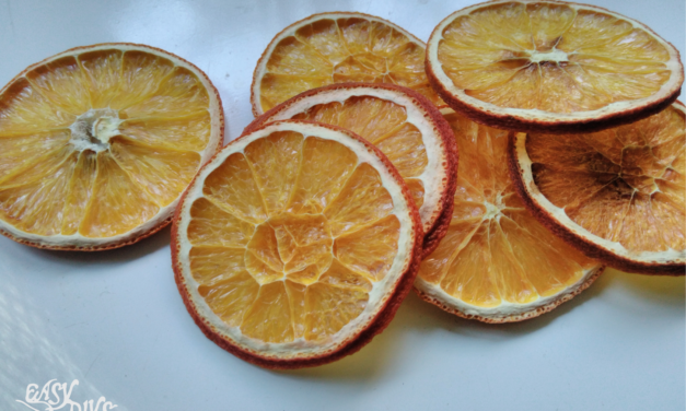 How to Dry Oranges for Crafts