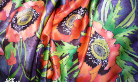 Washing Hand Painted Silk Scarves