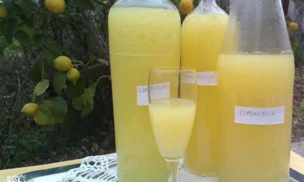 Homemade Limoncello Liqueur Recipe
