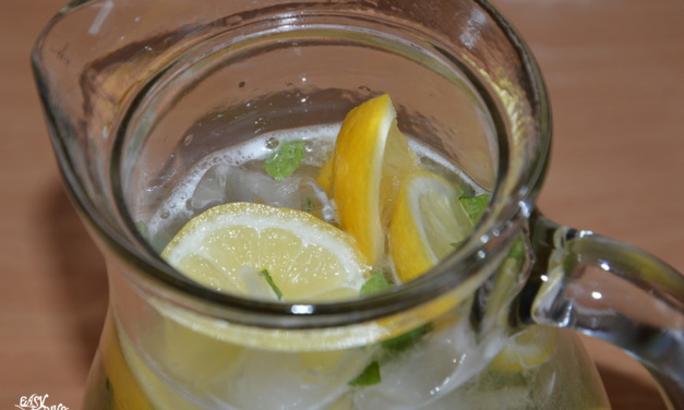 Homemade Honey Lemonade with Fresh Mint recipe