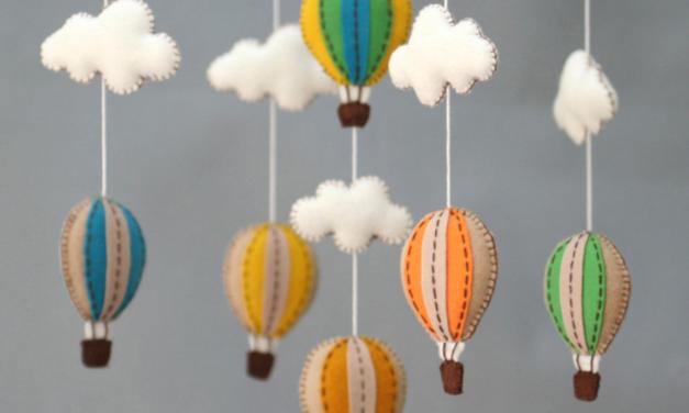 Hot Air Balloon Sewing Pattern