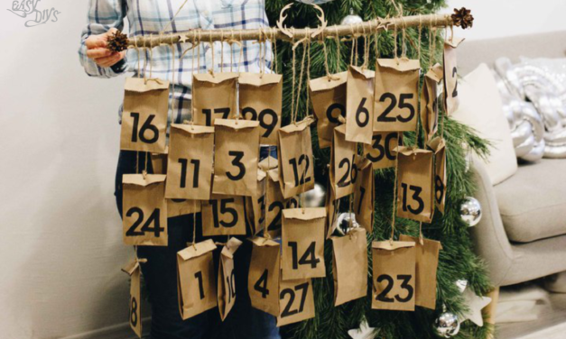 DIY Advent Calendar Treat Bags