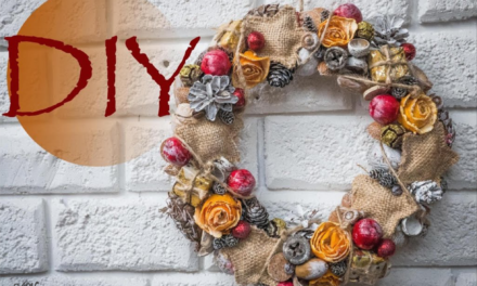 DIY Wreath with Natural Elements