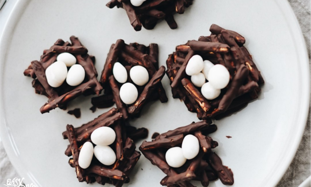 DIY Easter Chocolate Bird's Nest