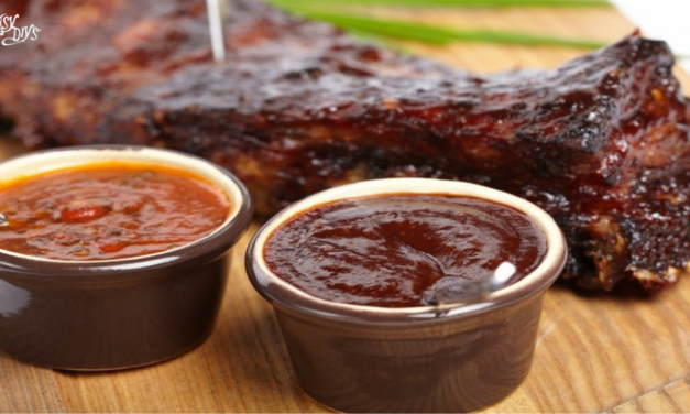 Chocolate chili barbecue sauce