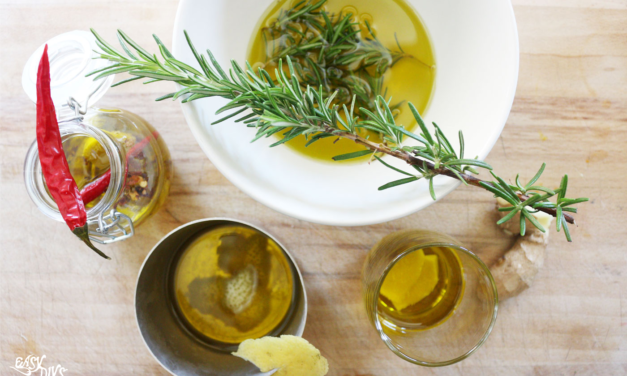Homemade Infused Olive Oil
